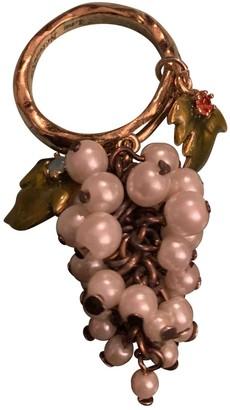 Les Nereides White Gold plated Rings