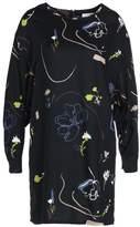 NATIVE YOUTH FLORAL CASCADE Summer dress black