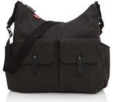 Babymel Infant 'Frankie' Diaper Bag - Black