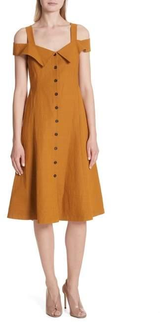 A.L.C. Hudson Cold Shoulder Dress