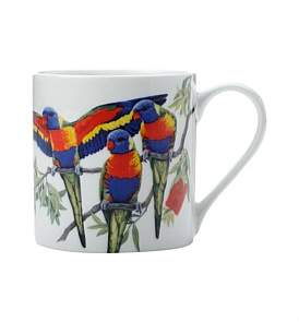 Maxwell & Williams Cashmere Birdsong Mug Lorikeets