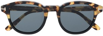 Tom Ford Jameson round frame sunglasses