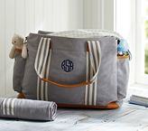 Pottery Barn Kids Gray Classic Diaper Bag
