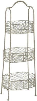 Uma Enterprises Metal 3-Tier Basket