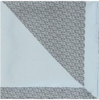 Burberry Monogram Panelled Pocket Square