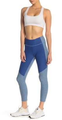 Outdoor Voices Two-Tone Fitted Leggings