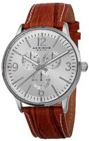 Akribos XXIV Men's Precise Quartz Multifunction Strap Watch