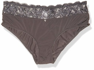 GUESS Women's Mixed Lace Brief Underwear