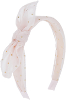 Accessorize Starburst Fabric Bow Alice Hair Band