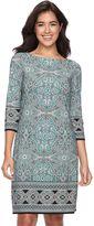 Petite Suite 7 Mosaic Shift Dress