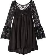 Ella Moss Shyla Bell Sleeve Dress (Big Kids)