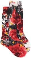 Prada floral pattern socks