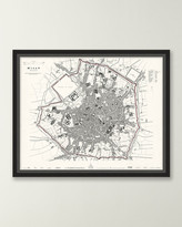 Italian Map Series - Milan