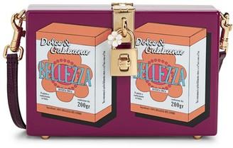 Dolce & Gabbana Belleza Acrylic Box Crossbody Bag