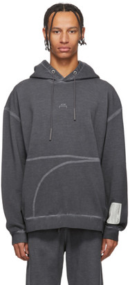 A-Cold-Wall* A Cold Wall* Grey Classic Flat Overlock Hoodie