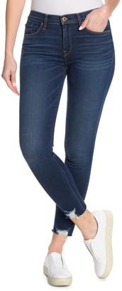Hudson Jeans Womens Nico Mid-Rise Super Skinny 5-Pocket Stretch Sateen Jean