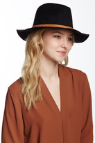 David & Young Faux Suede Panama Hat