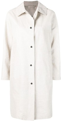 MACKINTOSH Natural Storm System Linen Coat LM-079ST/P