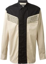 DSQUARED2 studded shirt - men - Cotton/Spandex/Elastane - 46