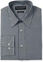 Nick Graham Men's Gingham Cotton Dress Shirt