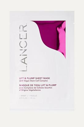 Lancer Lift & Plump Sheet Mask X 4