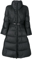 Ermanno Scervino flared style padded coat - women - Feather Down/Polyester/Feather - 40