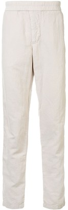 James Perse Elasticated-Waist Straight-Leg Trousers