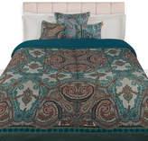 Etro Cabra Quilted Bedspread - 270x270cm - Green