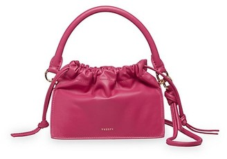 Yuzefi Mini Bom Leather Shoulder Bag