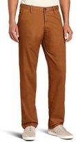 Haggar Men's LK Life Khaki Slim Fit Flat Front Chino Casual Pant
