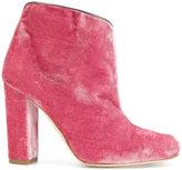 Malone Souliers block heel boots