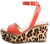 Kate Spade Leather Wedge Sandals