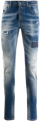 John Richmond Ripped Skinny Jeans