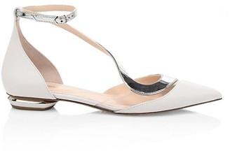 Nicholas Kirkwood S Ballerina Leather Flats