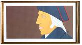 George Washington by Alex Katz (Framed Offset Lithograph)