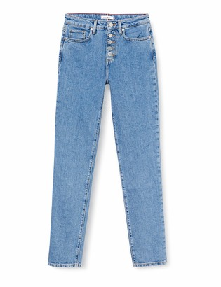 Tommy Hilfiger Women's Riverpoint Cigarette Hw A Patty Slim Jeans