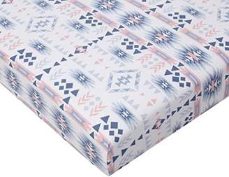 Camilla And Marc Bemini by Baby Boum Jersey Bed Sheet (60 x 120 cm, Apawi 62 Aladin)