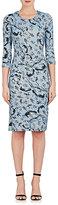 Erdem Women's Floral-Print Jersey Dress