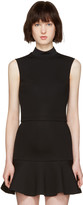 McQ by Alexander McQueen Black High Neck Top