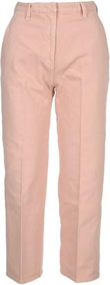 Prada Cropped Denim Jeans