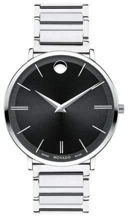 Movado 40mm Ultra Slim Watch