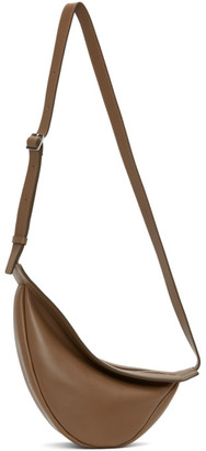 The Row Brown Small Slouchy Banana Bag