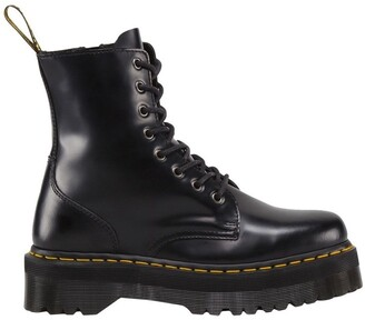 Dr. Martens Jadon 8 Eye Polished Smooth Black Boot
