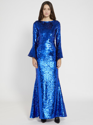 Alice + Olivia Jae Sequin Gown