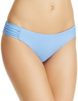 Becca by Rebecca Virtue Color Code Shirred Tab Bikini Bottom