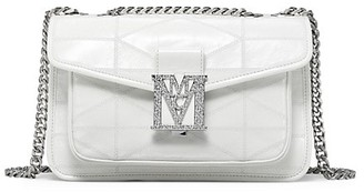 MCM Mena Small Quilted Shoulder Bag
