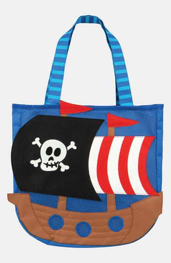 Stephen Joseph 'Pirate' Beach Tote & Toys