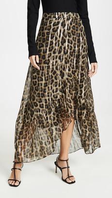 BA&SH Jalvi Leopard Skirt