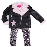 Betsey Johnson Girls' 3pc Jacket Set.