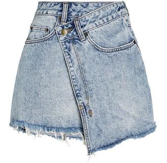 Ksubi Rap Clas Sick Denim Mini Skirt